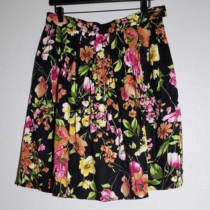 Grace Karin Beautiful Floral Aline Swing Skirt